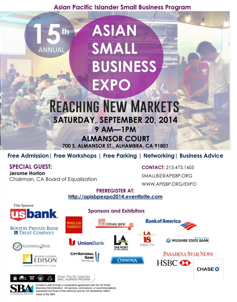 2014 Expo Flier Sponsors.ppt