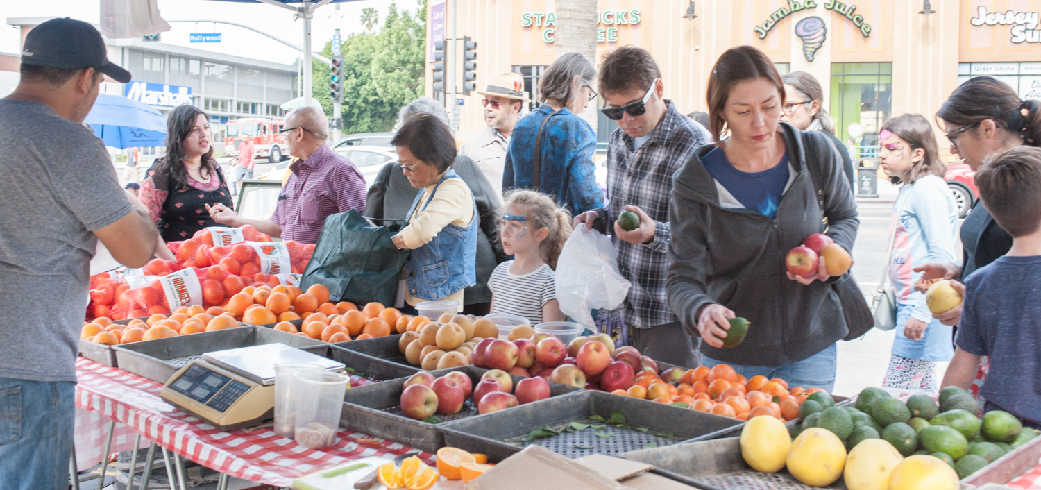 East Hollywood Certified Farmers' Market Saturday Grand Opening